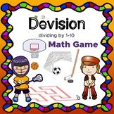 Math worksheets NO PREP! Dividing by 1-10 Mental Math