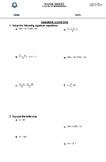 Math worksheets for grade 7