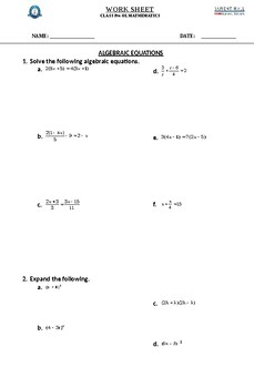 Math worksheets for grade 7 by MATHEMATIA | Teachers Pay ...
