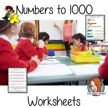 Math Worksheets Numbers to 1000