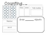 Math - write it - tally it - draw it - 11-20