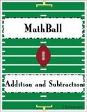 MathBall Addition and Subtraction Football Game