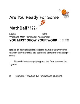 MathBall Multiplication and Division