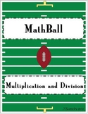 MathBall Multiplication and Division Football Game