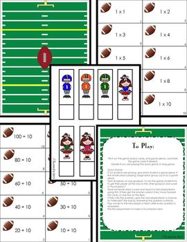 MathBall Multiplication and Division Football Game