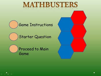 MathBusters - Math Multiplication Tables Team Game (2,3 tables)