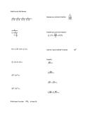MathCounts Skill Review #1