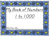 MathKnack 1-1000 Number Book