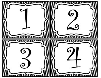 Math/Reading Center Numbers 1-12