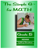 Indiana Math: The Simple 6 for Grade 5 Indiana Students