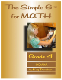 Indiana Math: The Simple 6 for Grade 4 Indiana Students