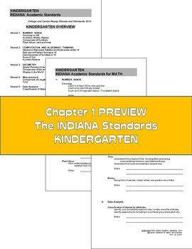 Indiana Math: The Simple 6 for Indiana Kindergarten Students