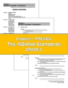 Indiana Math: The Simple 6 for Grade 6 Indiana Students