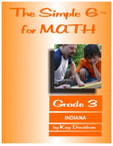 Indiana Math: The Simple 6 for Grade 3 Indiana Students