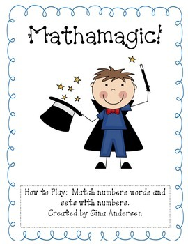 Mathamagic-Number Words and Sets to 12