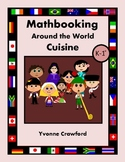 Math Journal Prompts Around the World Cuisine (kindergarten & 1st grade)