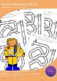 Mathe Rallye Arbeitsblätter bis 20