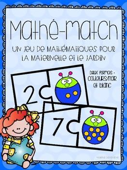 Mathé-match : Un jeu de mathématiques pour les petits