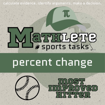 Mathlete - Percent Change - Baseball - Most Improved Hitter