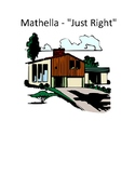 """Mathella- """"Just Right""""- A Story about Angles"""