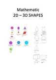 Mathematic 2D – 3D SHAPES