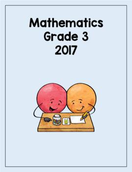 Mathematic GLAT Grade 3 2017 with answers
