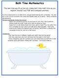 Mathematic homework ideas for parents home school EYFS