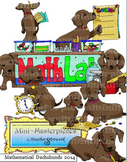 Clip Art: Mathematical Dachshunds by HeatherSArtwork
