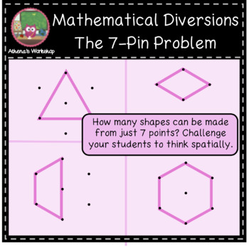 Mathematical Diversions - 7-Pin Problem