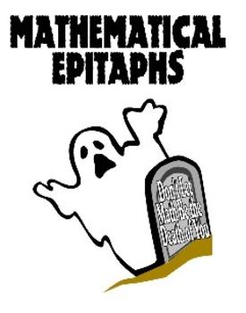 Mathematical Epitaphs