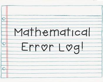 Mathematical Error Log!
