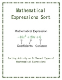 Mathematical Expression Sort