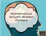 Mathematical Growth Mindset Bulletin Board/Posters