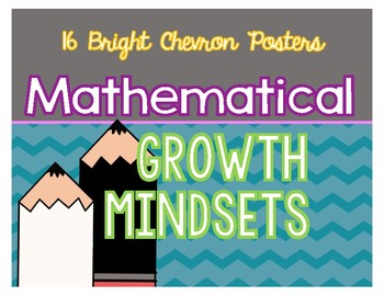 Mathematical Growth Mindset Posters