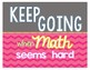 Mathematical Mindsets Posters