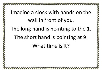Mathematical Imaginings - Clocks