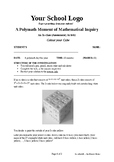 Mathematical Inquiry (Colour your Cube)