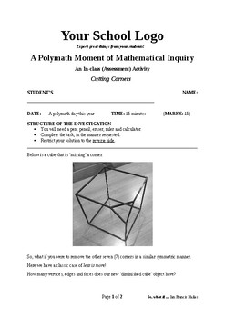 Mathematical Inquiry (Cutting Corners)