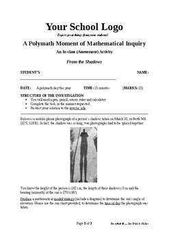 Mathematical Inquiry (From the Shadows)