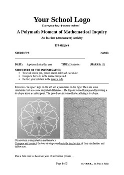Mathematical Inquiry (Tri shapes)