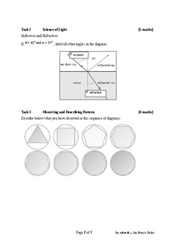 Mathematical Investigation (Boundary Encounters)