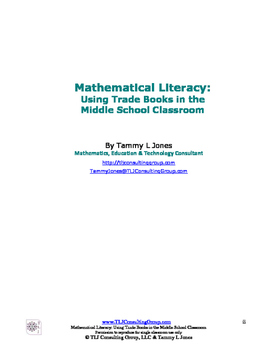 Mathematical Literacy Using Trade Books in the Middle School Classroom