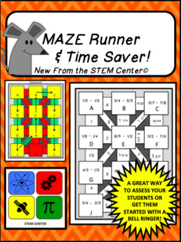 Mathematical Mazes 21 Activity Bundle