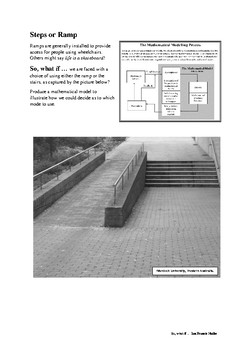 Mathematical Modelling (Steps or Ramp?)