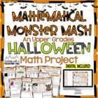 A Halloween Math Project for the Upper Grades