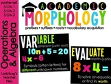 Academic Morphology: Operations & Algebraic Thinking (5.OA.1, 5.OA.2, 5.OA.3)