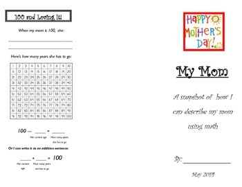 Mathematical Mother's Day Trifold