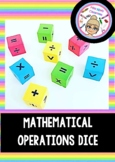 Mathematical Operations Dice