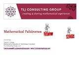 Mathematical Palindromes