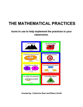 Mathematical Practice Icons